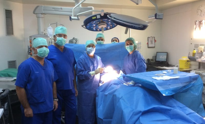 Siguiendo con el programa del curso, era del todo necesaria una visita a los quirófanos.