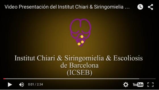 Institut Chiari Siringomielia Escoliosis Barcelona