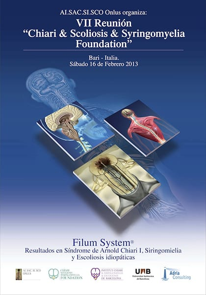 Chiari & Scoliosis & Syringomyelia Foundation VII reunión Bari