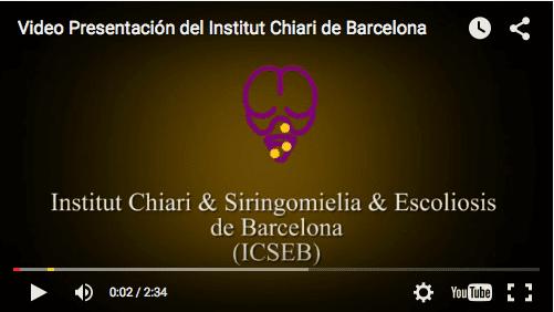 el institut chiari siringomielia escoliosis de barcelona